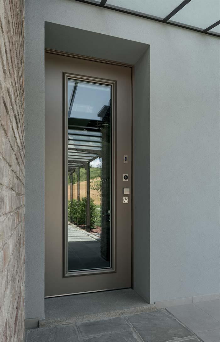Porte blindate vetrate da casaloft porte finestre scale perugia - Porta finestra blindata ...