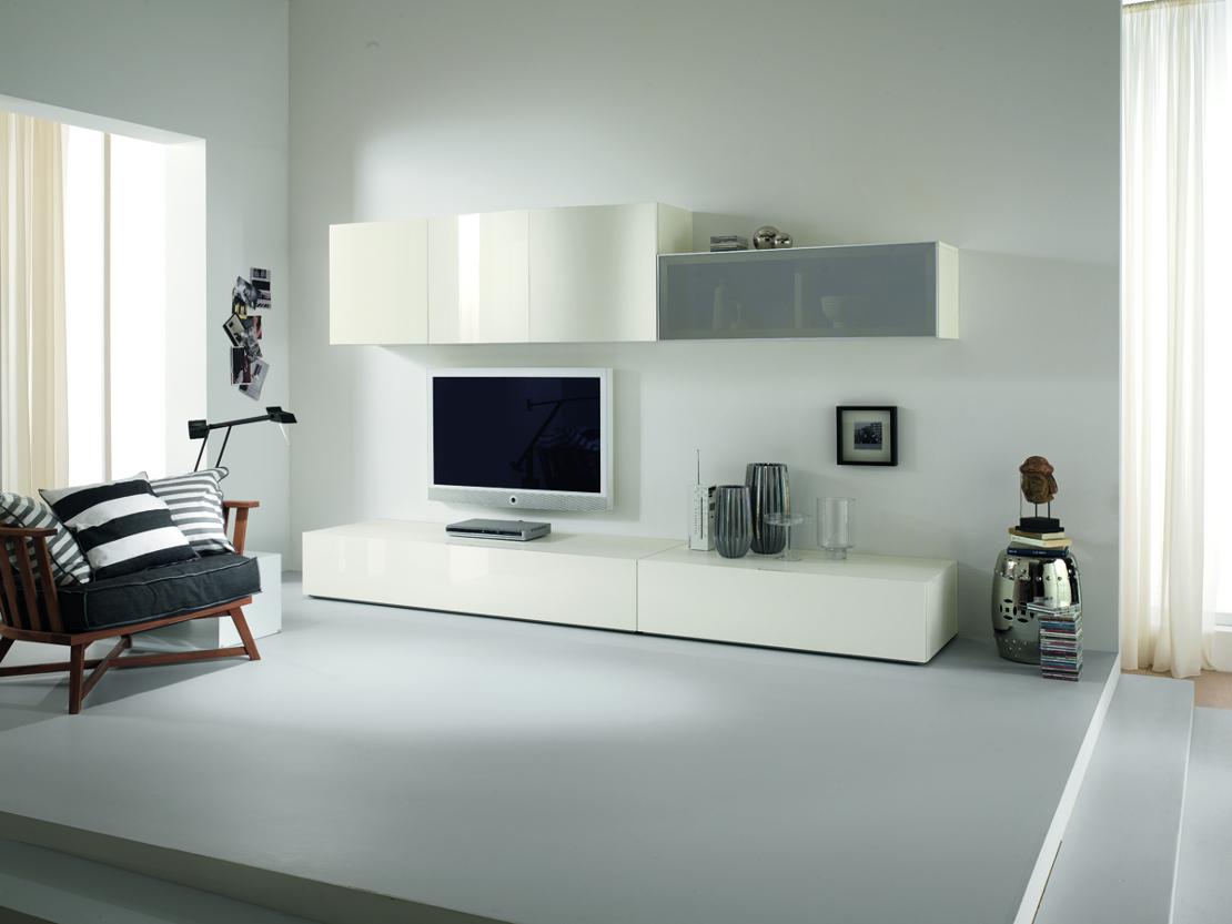 Beige E Grigio Arredamento mobili zona giorno - living