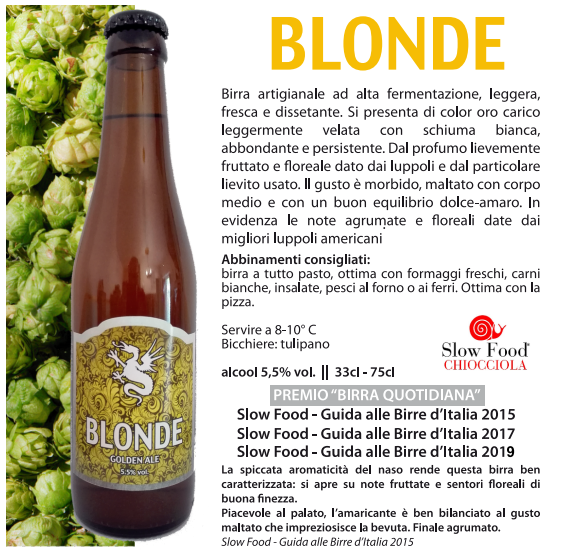 BLONDE - Golden ale w/ Kveik yeast 75 cl