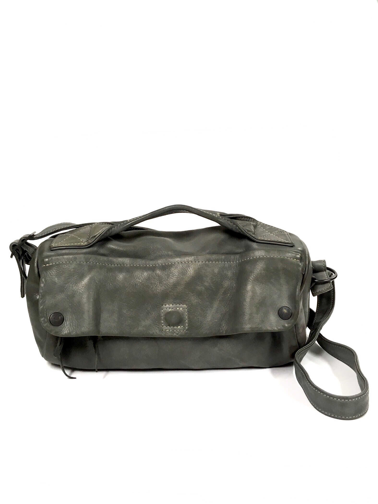 grey barrel bag