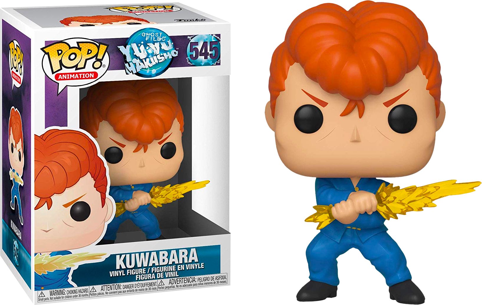 FUNKO POP KUWABARA #545 YU YU HAKUSHO ANIMATION