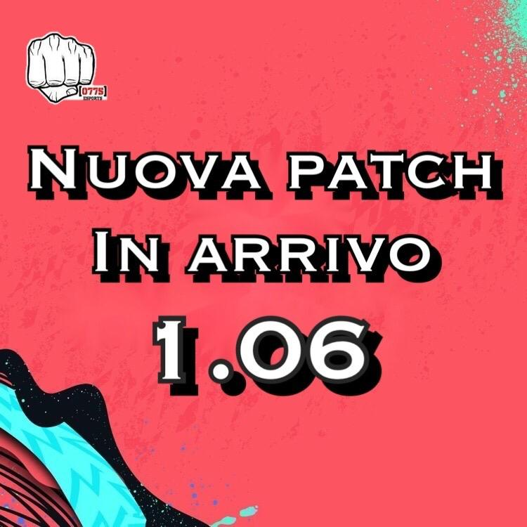 NEWS - IN ARRIVO LA PATCH 1.06