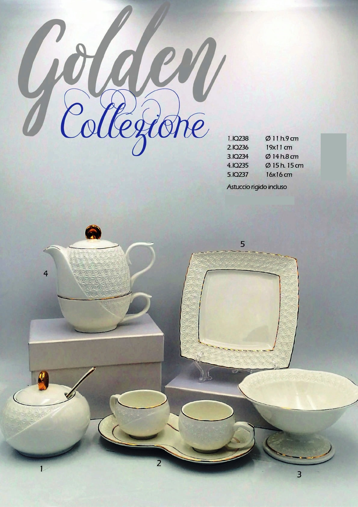 Collezione Golden by Ilary Queen