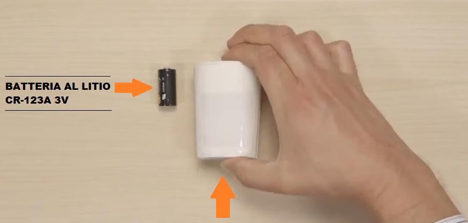 Come sostituire batteria rilevatore BW 802 Bentel - YouTubepng
