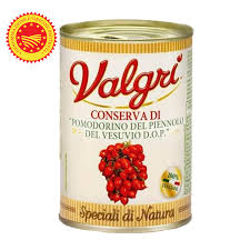 "Tinned Vesuvio Piennolo DOP Cherry Tomatoes 400g (14.10oz) ""Imported from Italy"""