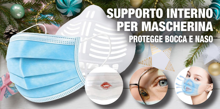 SUPPORTO INTERNO PER MASCHERINA