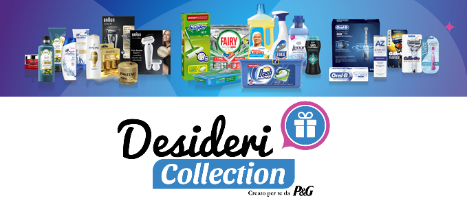 VINCI KIT con prodotti P&G Desideri Collection