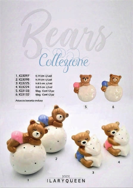 Collezione Bears by Ilary Queen