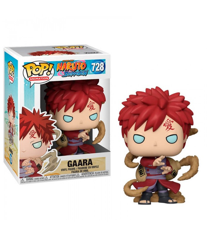 FUNKO POP GAARA #728 ANIMATION NARUTO