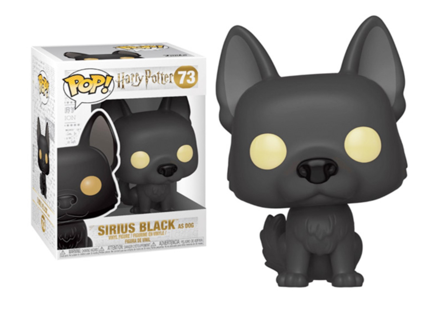 FUNKO POP SIRIUS BLACK #73 HARRY POTTER FELPATO