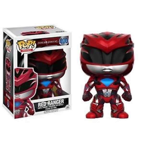 FUNKO POP RED RANGER #400 POWER RANGER MOVIES
