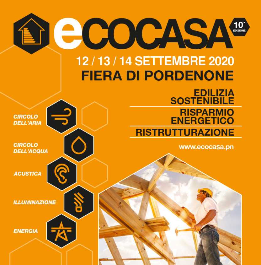 Rete PREGI in fiera a Ecocasa Energy 2020