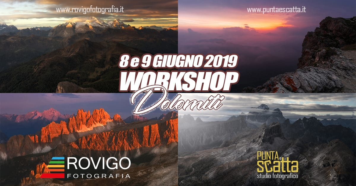 workshop nelle dolomiti