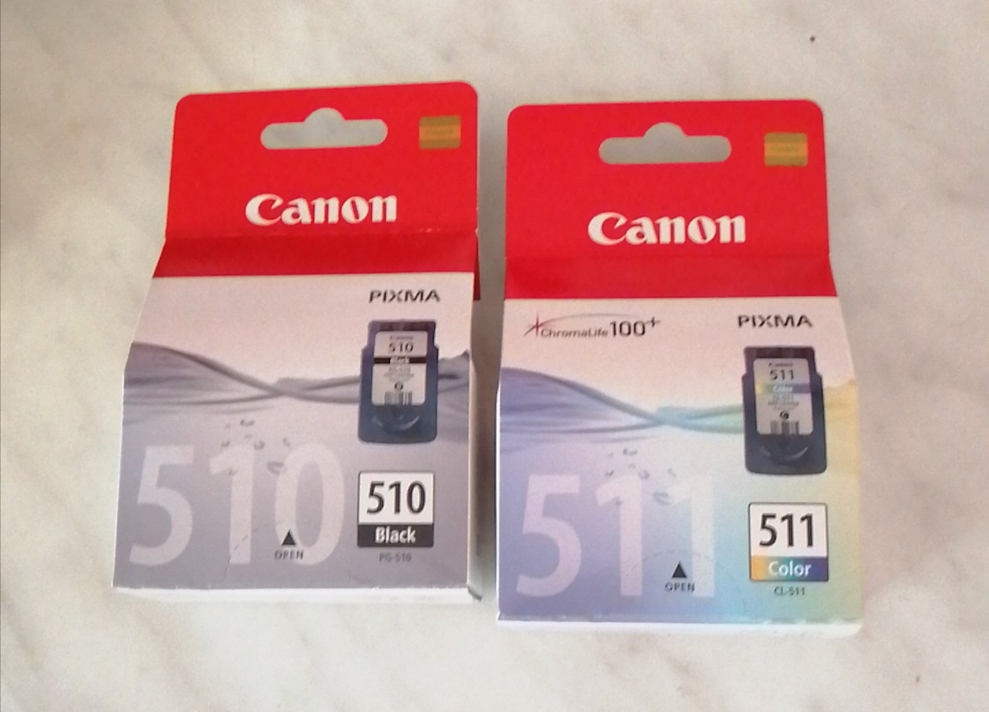 Canon originale pg510 + cl 511