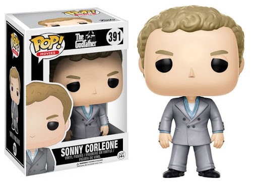 FUNKO POP SONNY CORLEONE #391 JAMES CAAN IL PADRINO THE GODFATHER MOVIES