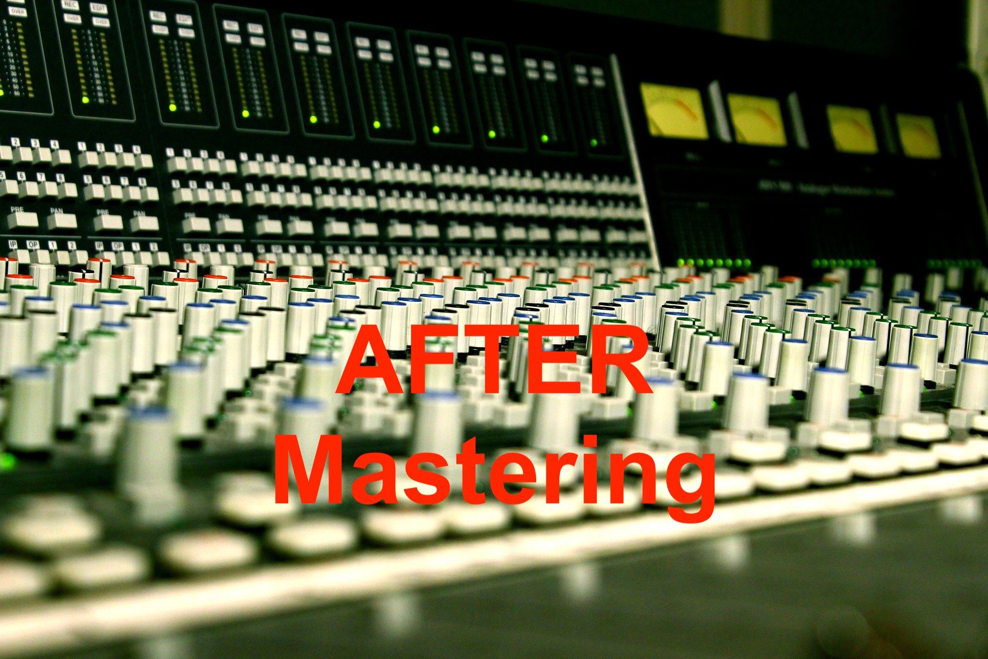 New online service: Mixing & Mastering!