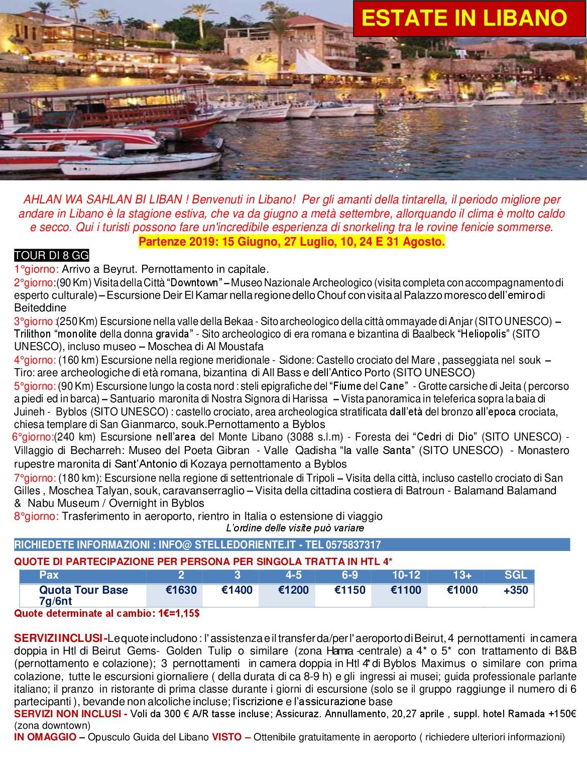 LOCANDINA  estate in LIBANO TOUR 2019-001jpg