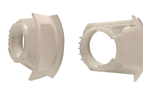 Functional prototype printed in polypropylene