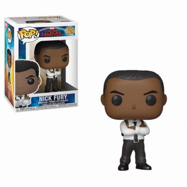 FUNKO POP NICK FURY #428 CAPTAIN MARVEL