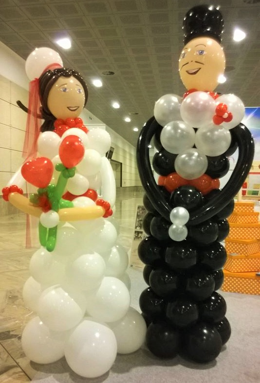 balloon art show