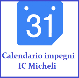 Calendario impegni IC Micheli