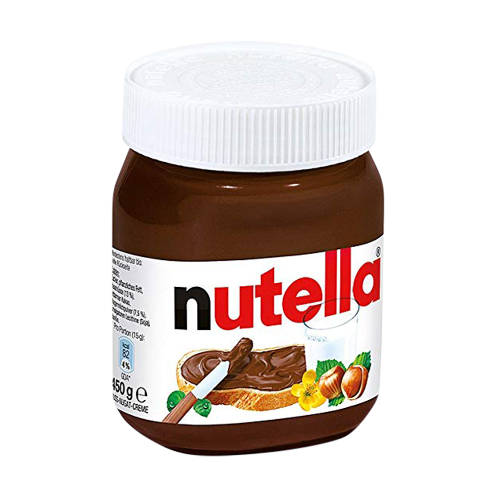 "Nutella Ferrero  450gr (15.87oz) ""Imported from Italy"""