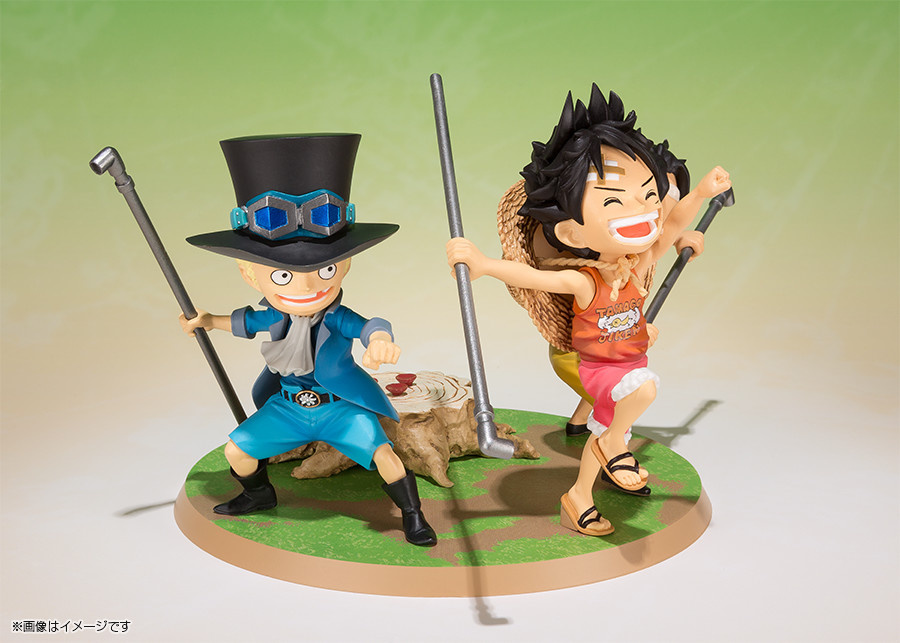 Luffy & Ace & Sabo - One Piece - Figuarts Zero - Bandai - Tamashi Nation
