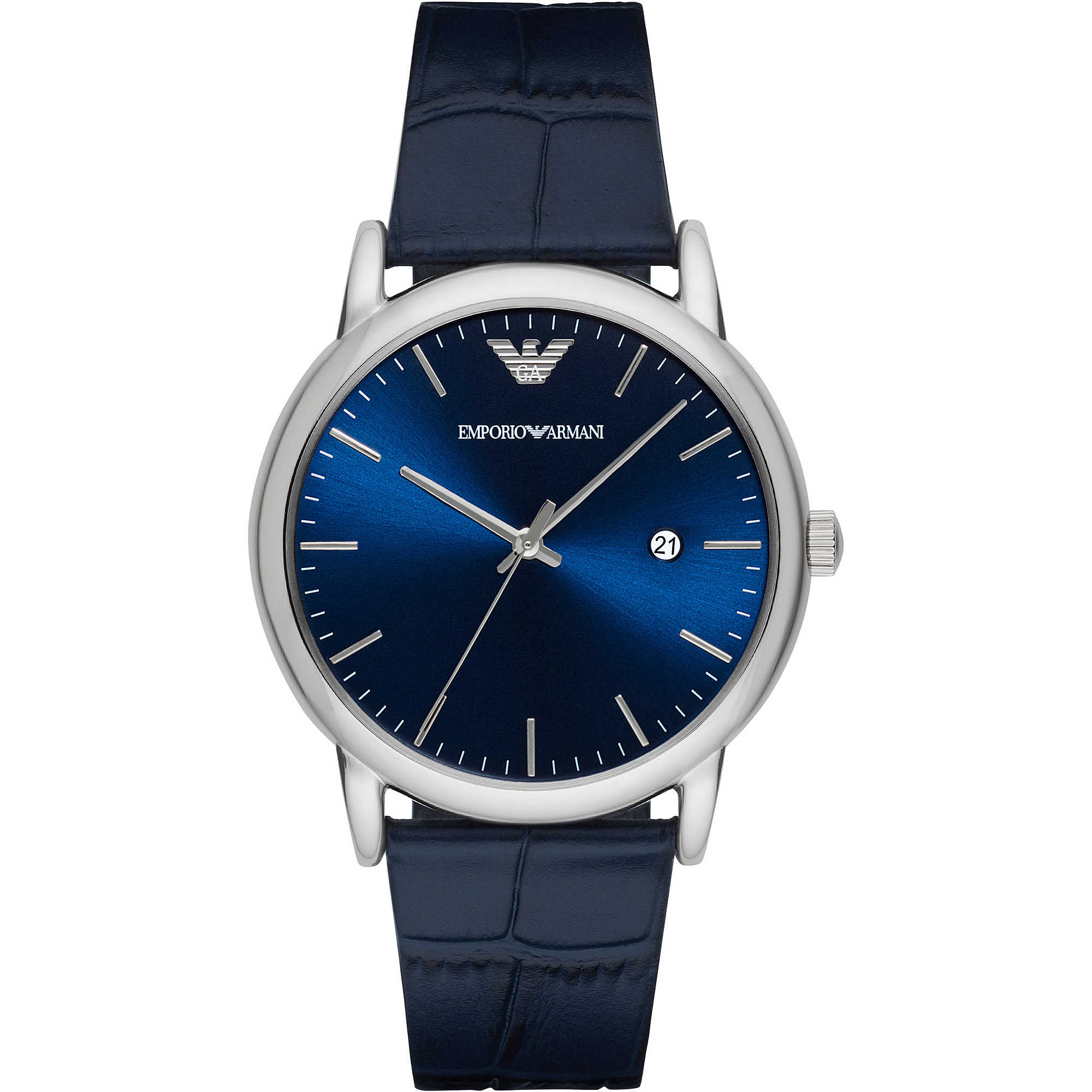 Blue Sunray Dial Men's Dress Watch AR2501