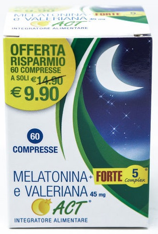 MELATONINA ACT1MG+VALER 5FT 60cpr