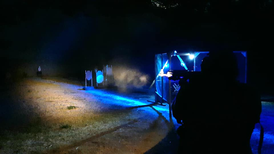 Ak47 - Shotgun - Pistol, Night Stage