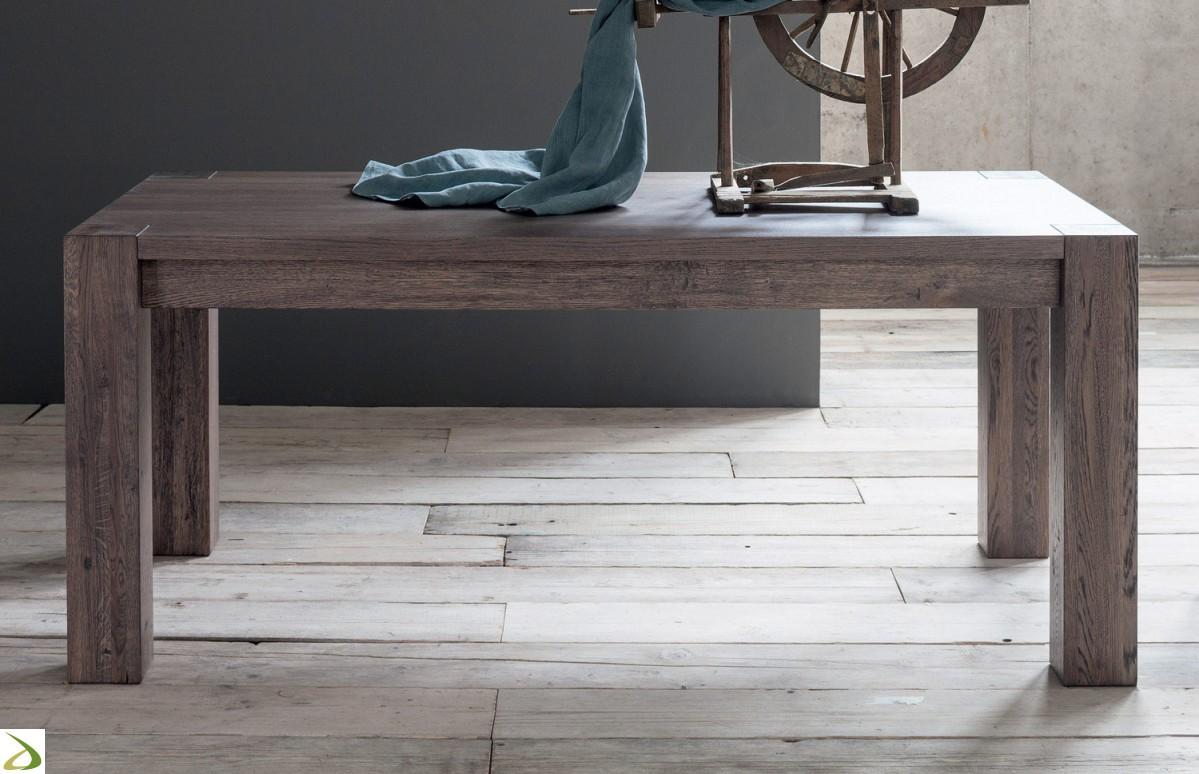 Credenze e tavoli in vero legno massello su misura - Mobili da cucina moderni ...