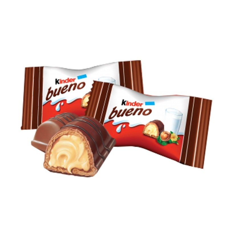 "Kinder Bueno Mini 2 x 18 pz 194gr ( 6.84oz )  ""Imported from Italy"""