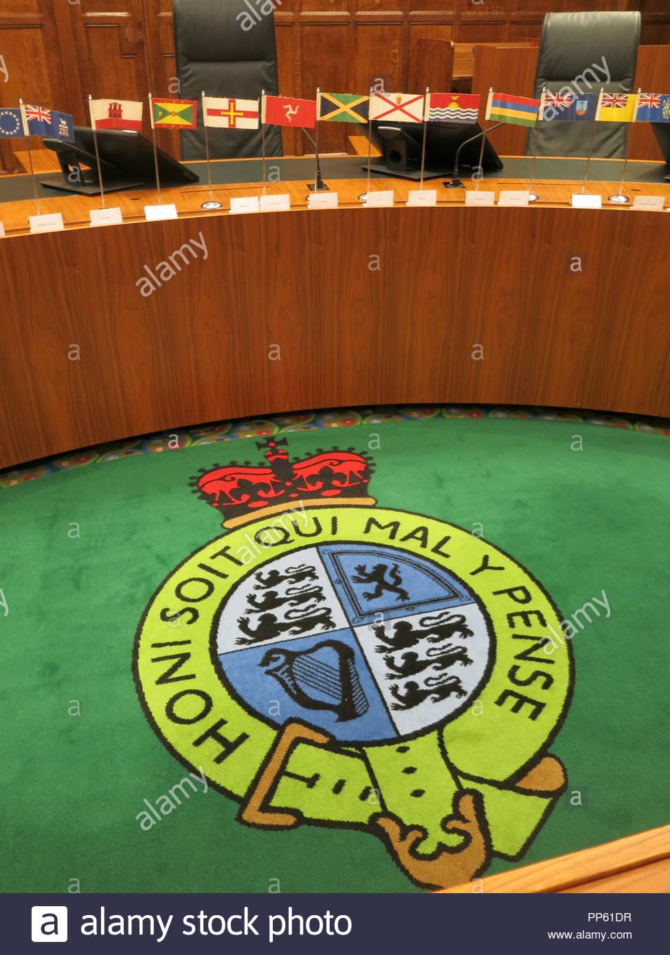 PP61DR tappeto in Aula 3 presso la Corte suprema la piazza del Parlamento Londrajpg
