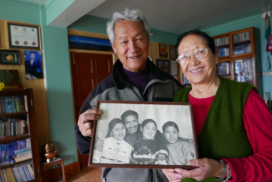 Dorjee Lhatoo la moglie e una foto di TenzingJPG