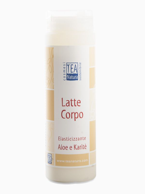 Latte corpo elasticizzante all'Aloe e Karitè 150ml Tea Natura
