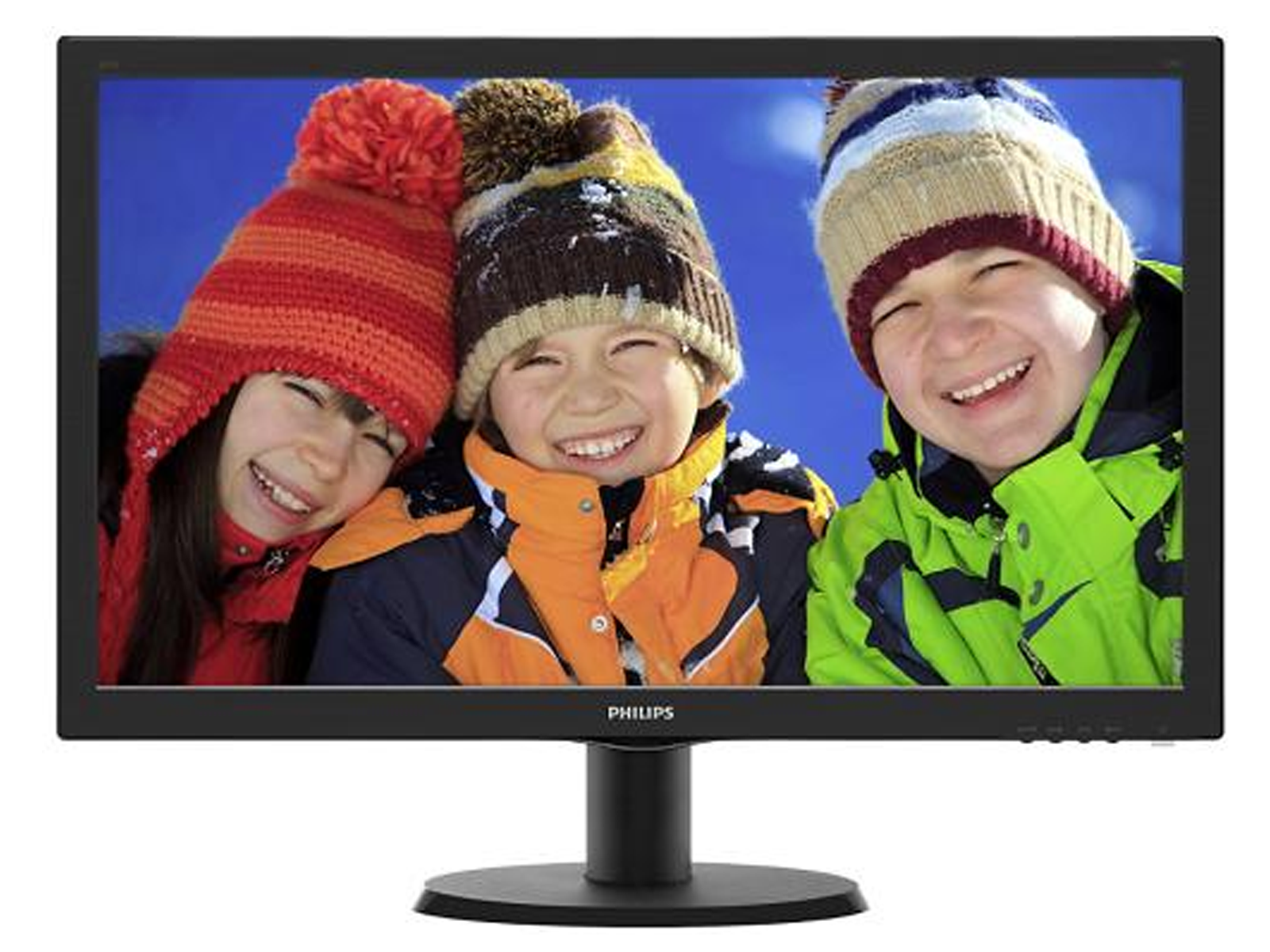 "PHILIPS MONITOR LED 23,6"" 243V5QHSBA/00 CON SMART CONTROL LITE"