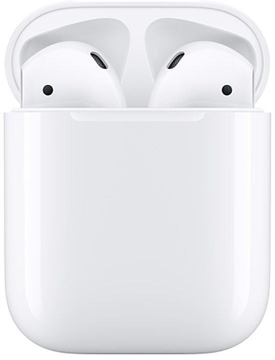 APPLE AURICOLARI AIRPODS 2 + CUSTODIA DI RICARICA ORIGINALI.