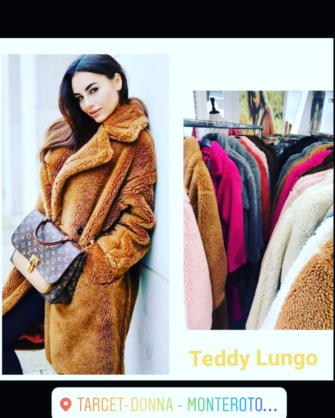Cappotto Teddy