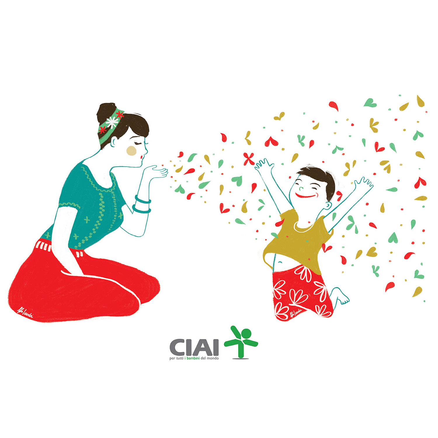 Equity Project about 	 motherhood. Client: CIAI
