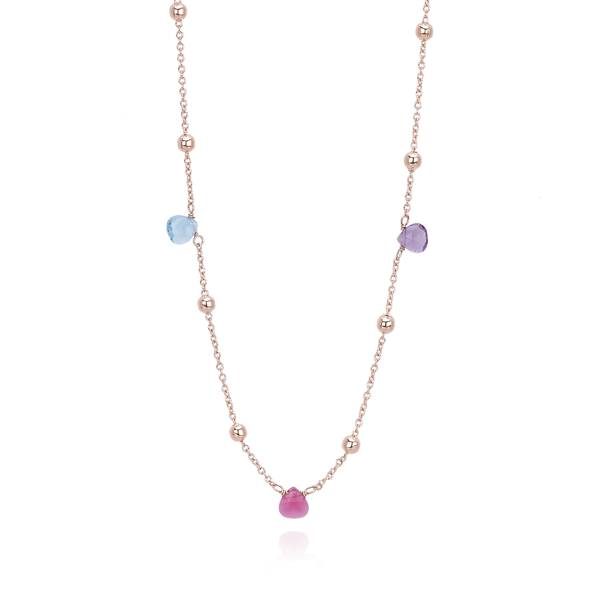 Collana multicolor