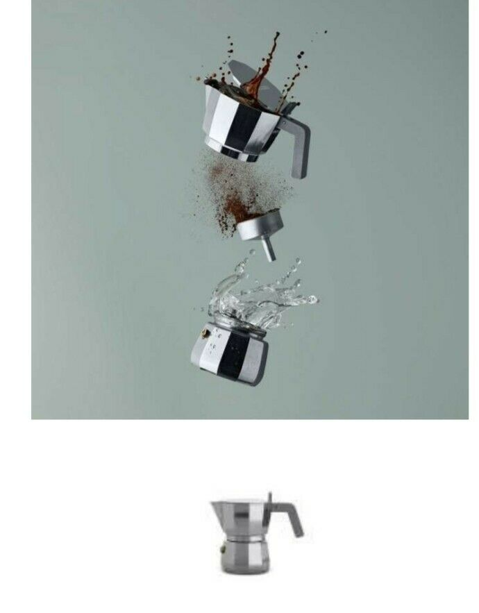 ALESSI CAFFETTIERA DC06 David Chipperfield NEW !!!