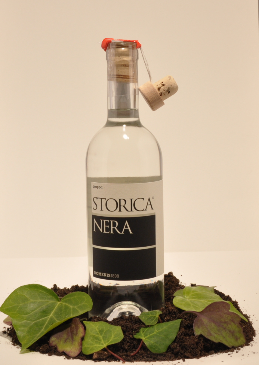 Distillato Grappa Storica Nera Domenis
