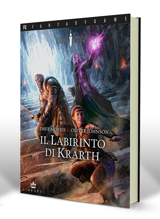 LIBROGAME Blood Sword 1: Il Labirinto di Krarth