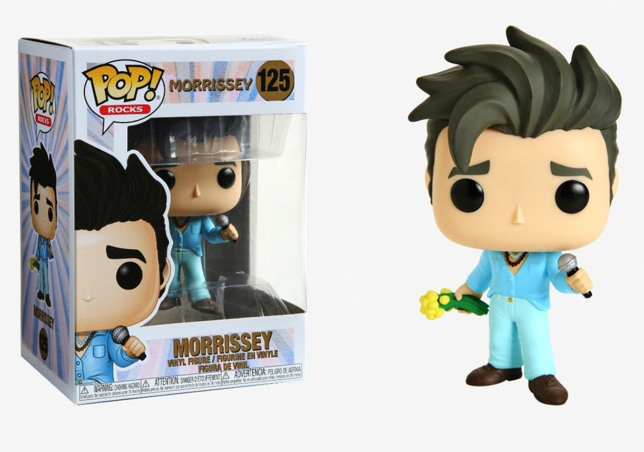FUNKO POP MORRISSEY #125 THE SMITHS ROCK