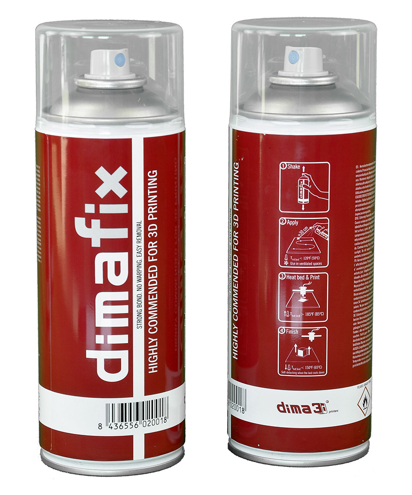 DIMAFIX spray adesivizzante per piano di stampa  400ml