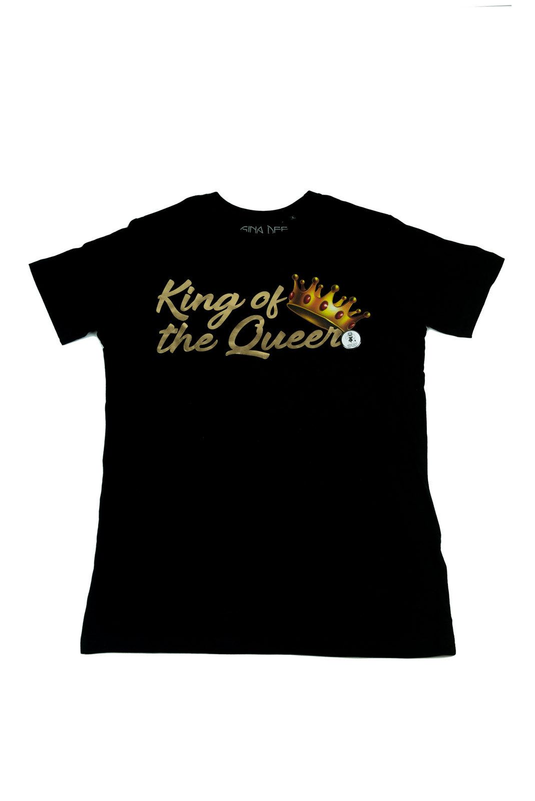 T shirt King Gold