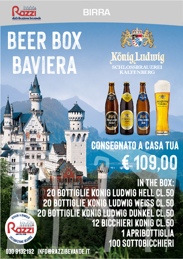 Beer Box Bavaria - Konig Ludwig
