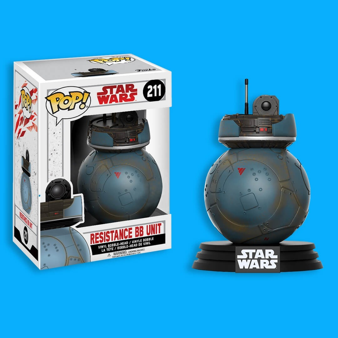 FUNKO POP RESISTANCE BB UNIT #211 STAR WARS