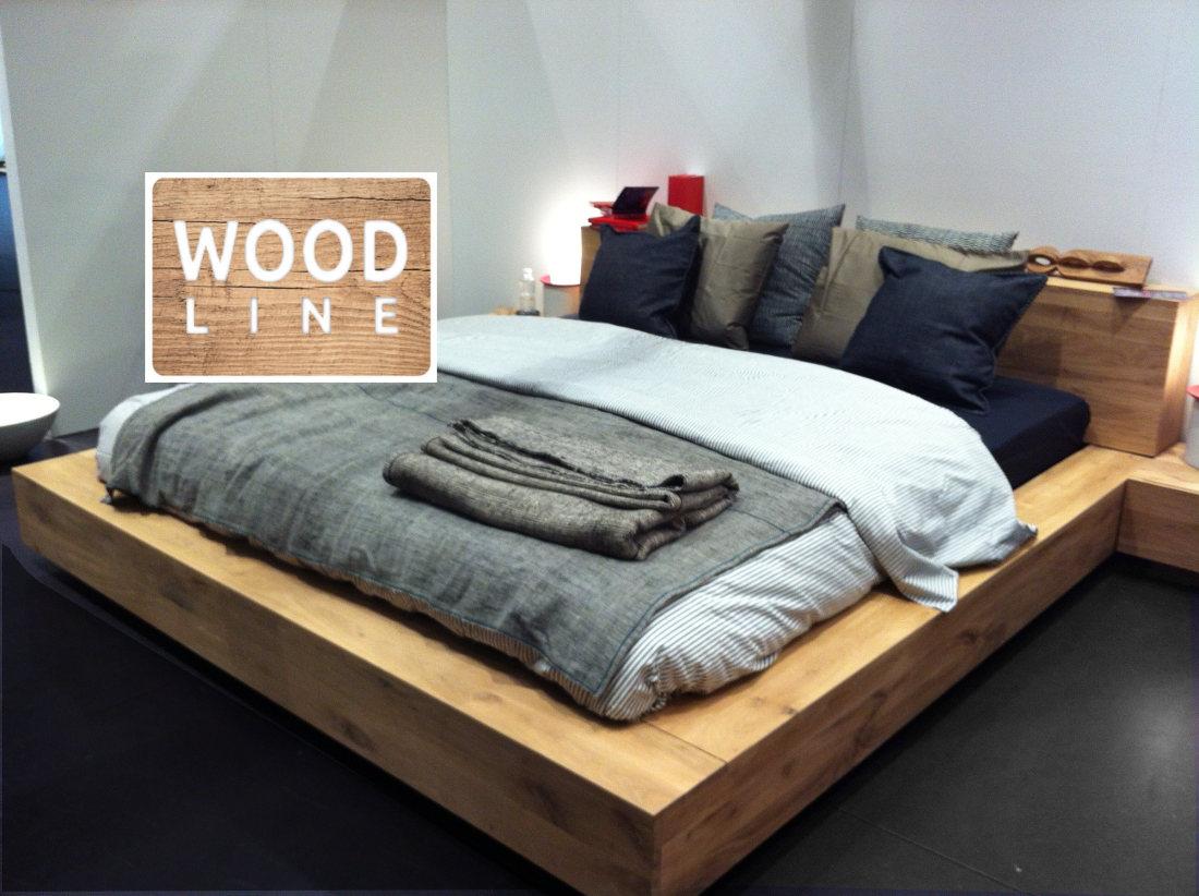 Letti contenitore in legno massello di teak e rovere for Longhi arredamenti