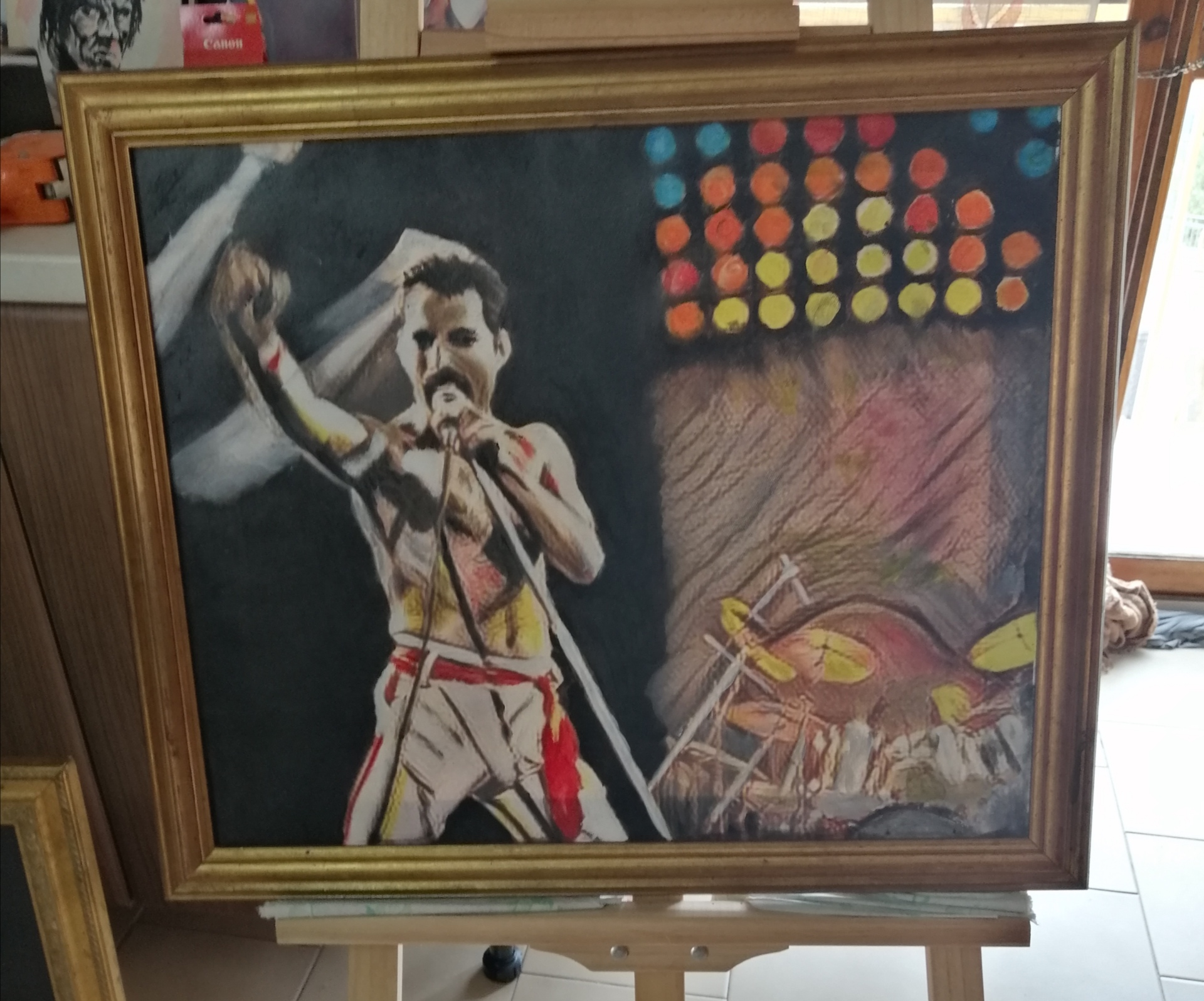Freddy Mercury 50x60
